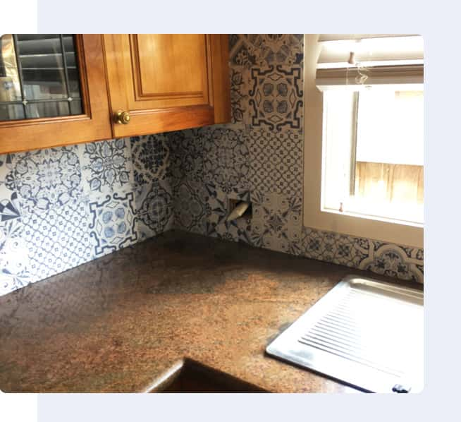 Kitchen Tiling Project Image By Vittorio's Tiling
