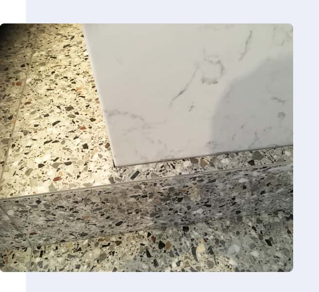 Terrazzo Tiling Project Image By Vittorio's Tiling